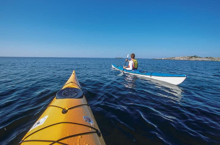 Kayaking, Stockholm Archipelago