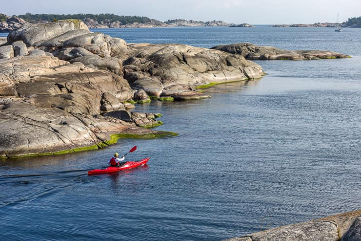Kayaking in Stockholm Archipelago