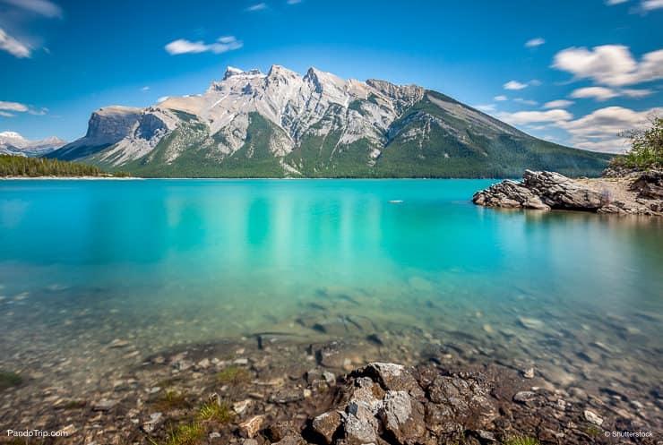 Lake Minnewanka, Banff, Alberta, Canada