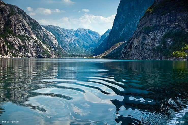 Landscape at Geirangerfjord, Norway