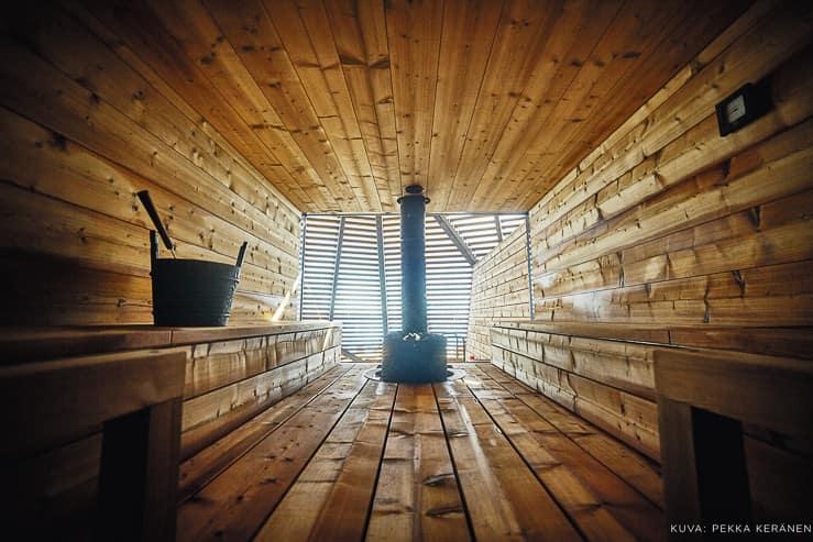 Loyly Sauna in Helsinki, Finland