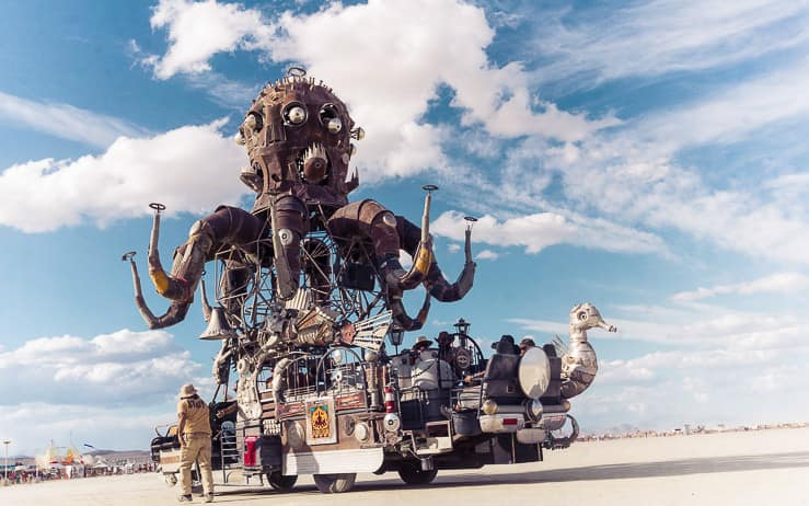 Mutant Vehicles at Burning Man