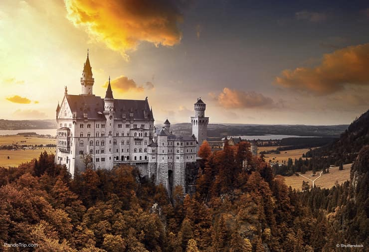Neuschwanstein Castle, southwest Bavaria, Germany