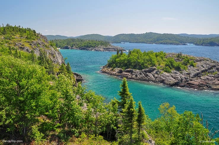 Northern shore of Great Lake Superior