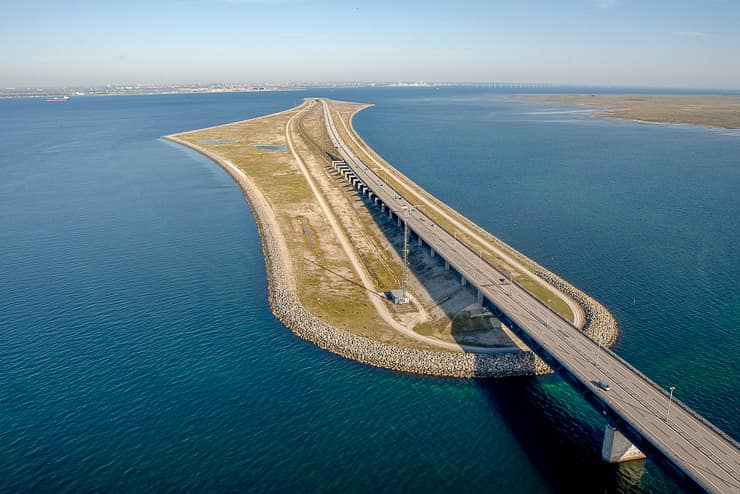 Oresund Underwater Bridge, Denmark and Sweden