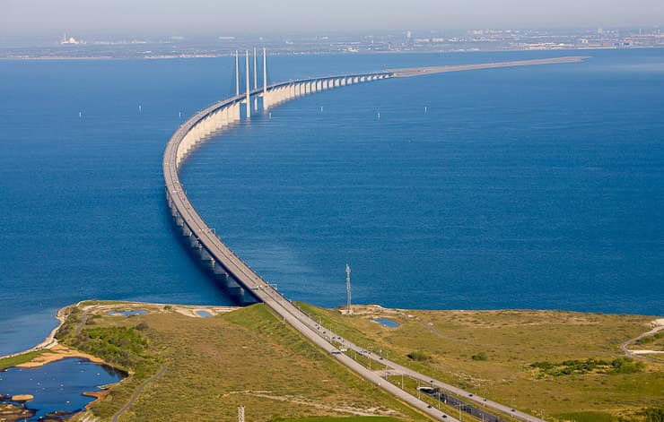 Oresund Underwater Bridge