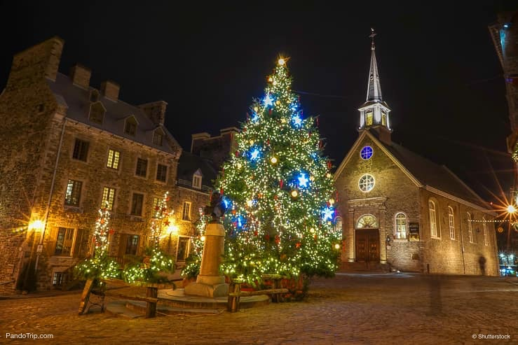 quebec city during christmas