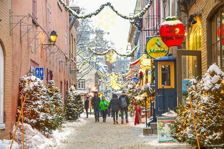 Rue du Petit-Champlain at Lower Old Town, Quebec