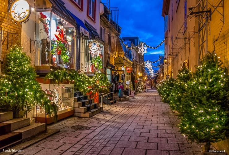 Rue du Petit-Champlain – the Most Beautiful Street in Quebec, Canada