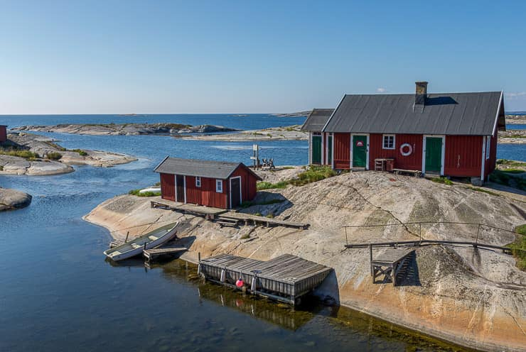 Small Island of Stockholm Archipelago