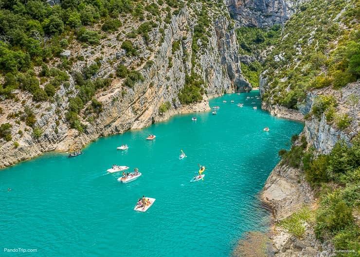 The Gorges Du Verdon, France