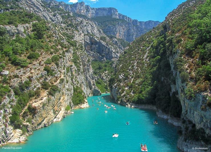The Gorges Du Verdon, south-eastern France