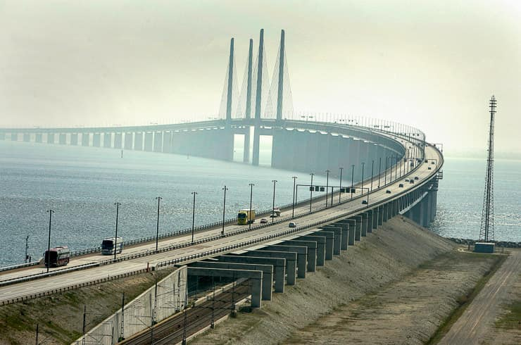 The Oresund Underwater Bridge