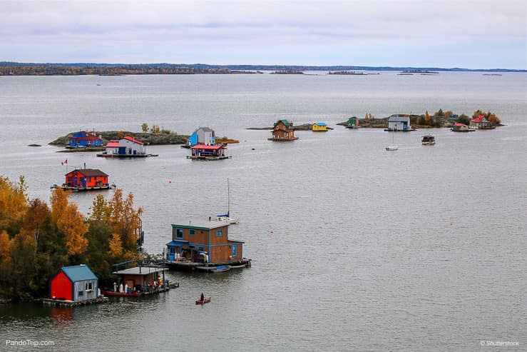 Yellowknife Bay of the Great Slave Lake, Canada