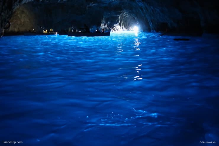 Blue Grotto or Grotta Azzurra, Italy