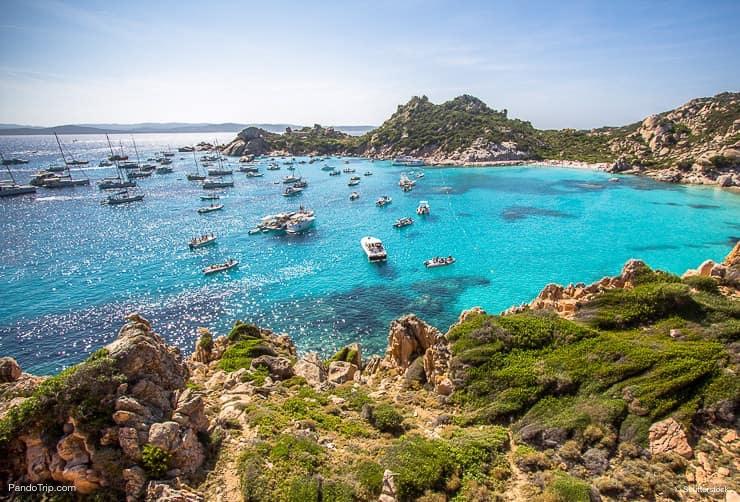 Cala Corsara, Maddalena Archipelago, Sardinia, Italy