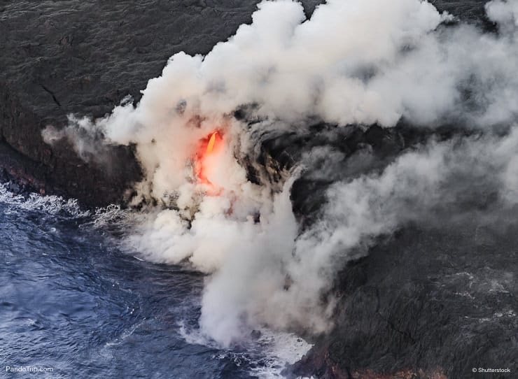 Kilauea Volcano, Hawaii Volcanoes National Park, Hawaii