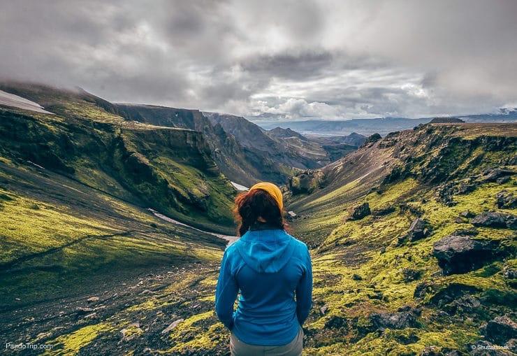 Laugavegur Hiking Trail, Landmannalaugar, Iceland