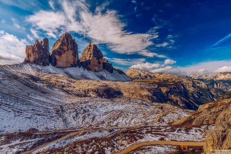 Tre Cime di Laveredo, The Dolomites, Italy