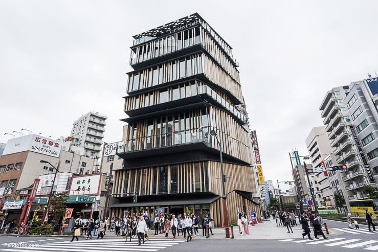 Asakusa Culture Tourist Information Center, Tokyo, Japan