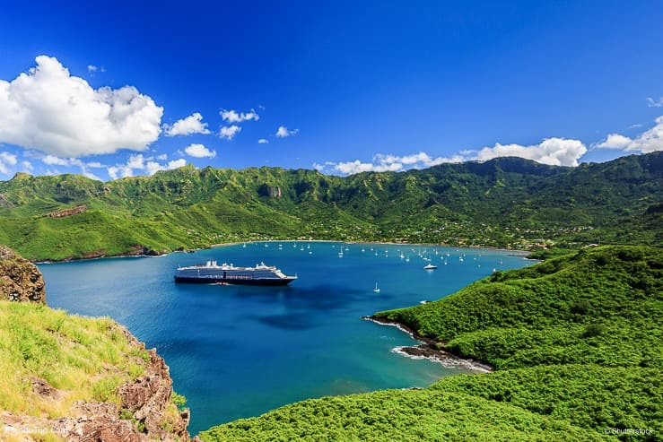 Bay of Taiohae, Nuku Hiva, Marquesas Islands, French Polynesia