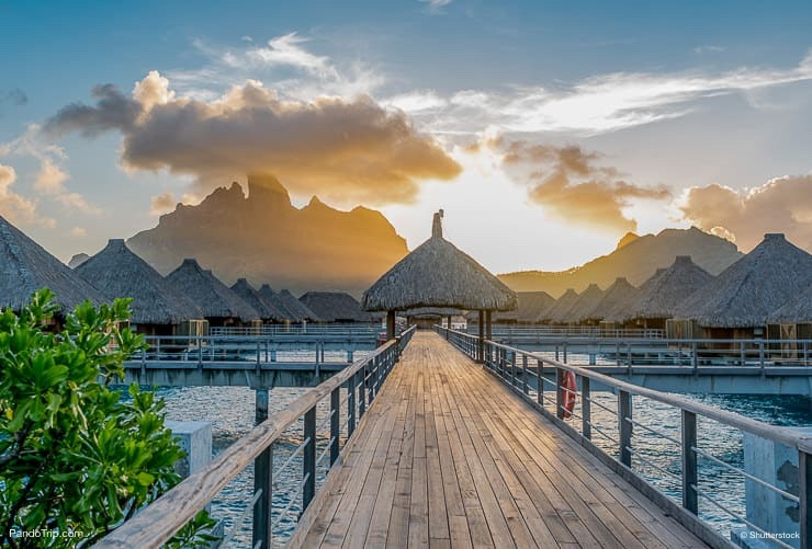 Bora Bora, French Polynesia, Pacific Ocean