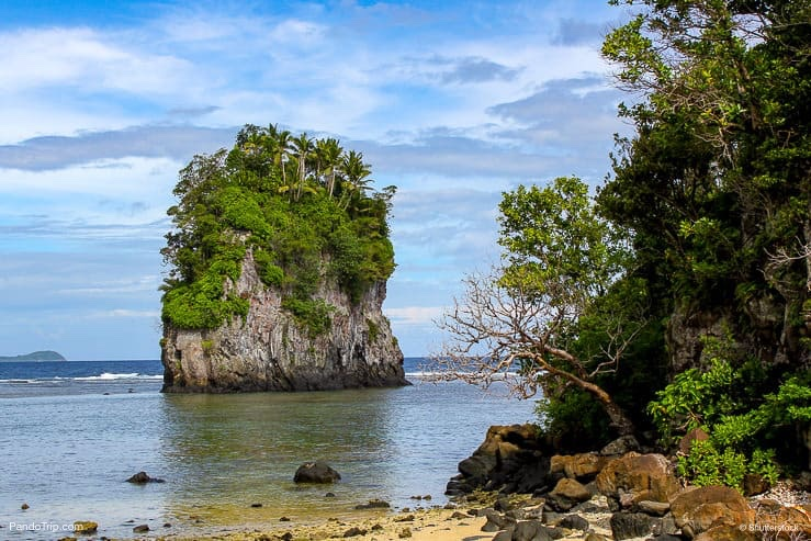 Flowerpot Rock Near Pago Pago, Tutuila, American Samoa