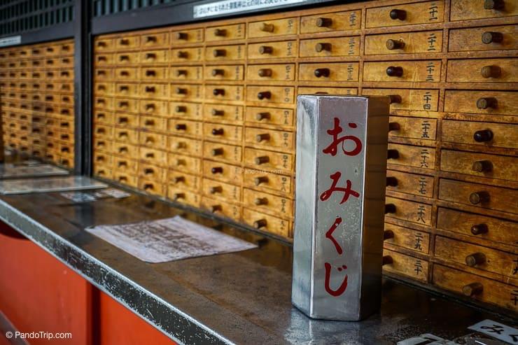 Fortune Box, Sensoji, Asakusa