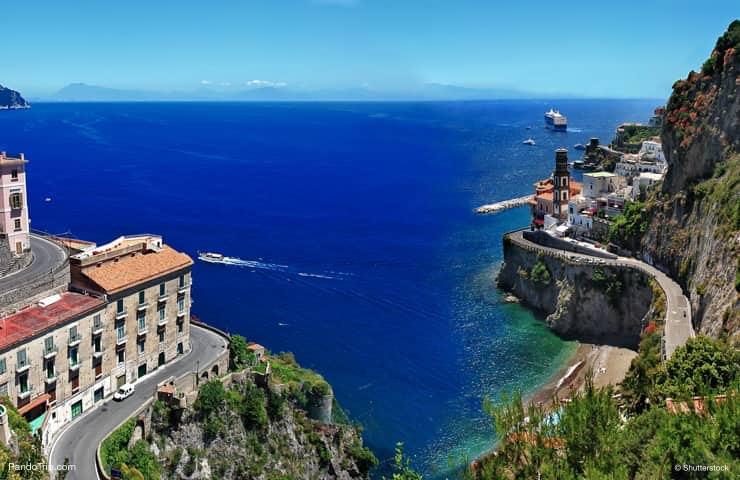 How to get to Atrani on Amalfi coast, Italy