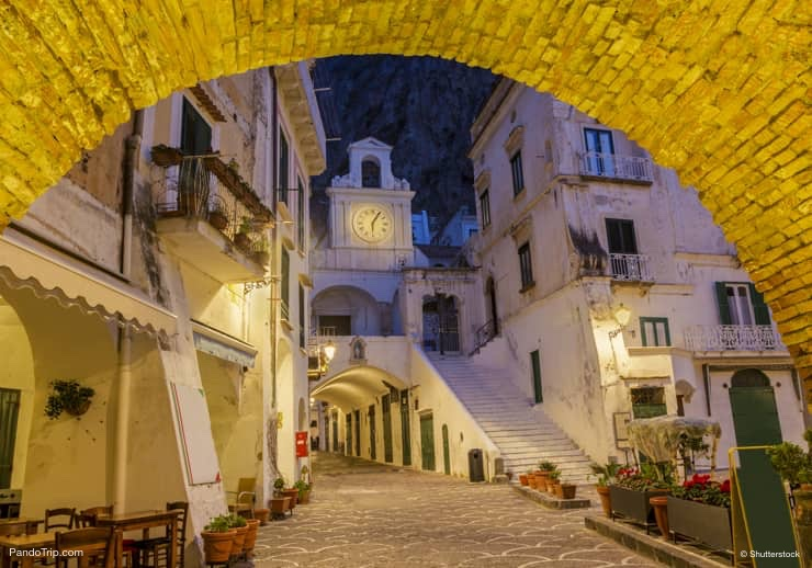 Piazzetta Umberto, Atrani, Italy