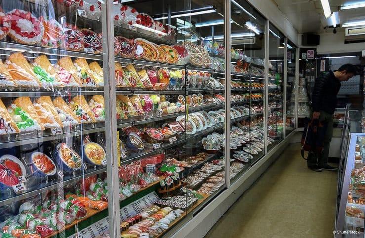Plastic food store in Kappabashi, Asakusa