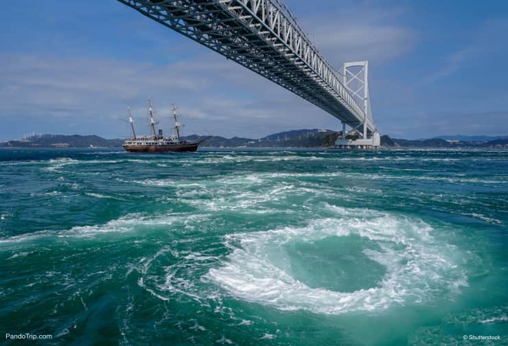 Boat tour to Naruto Whirlpools