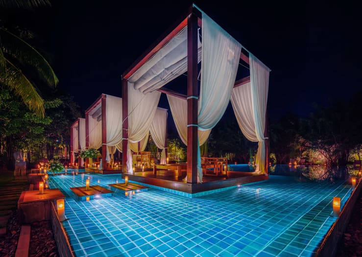 One of the Fanciest pool in the world. The Sarojin, Khao Lak, Thailand
