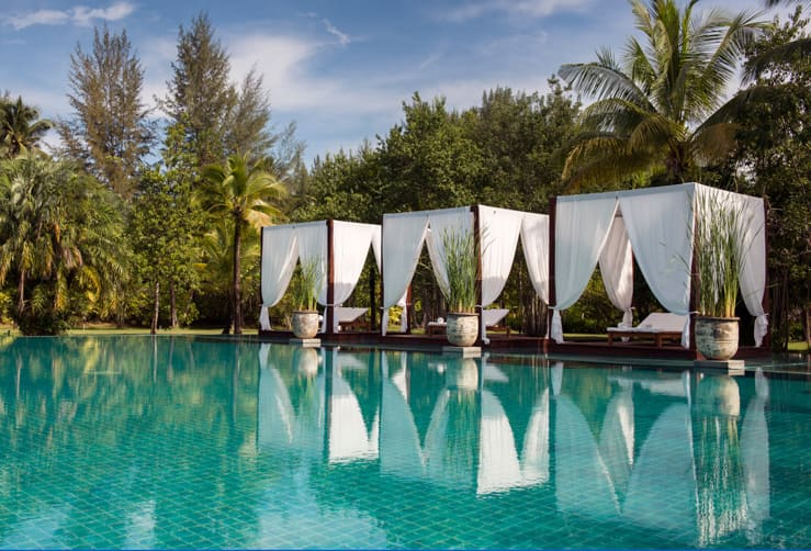 One of the best hotel pools world - The Sarojin, Khao Lak, Thailand