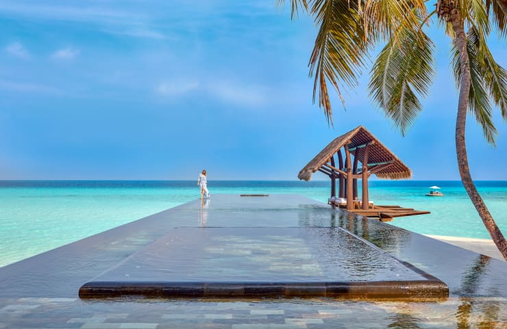 Serenity pool at the One & Only Reethi Rah resort, Maldives