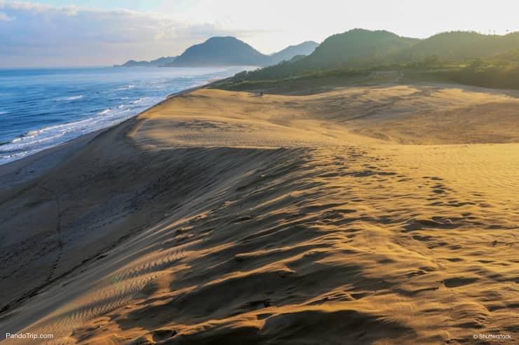 Tottori Sand Dunes Landscape in Japan