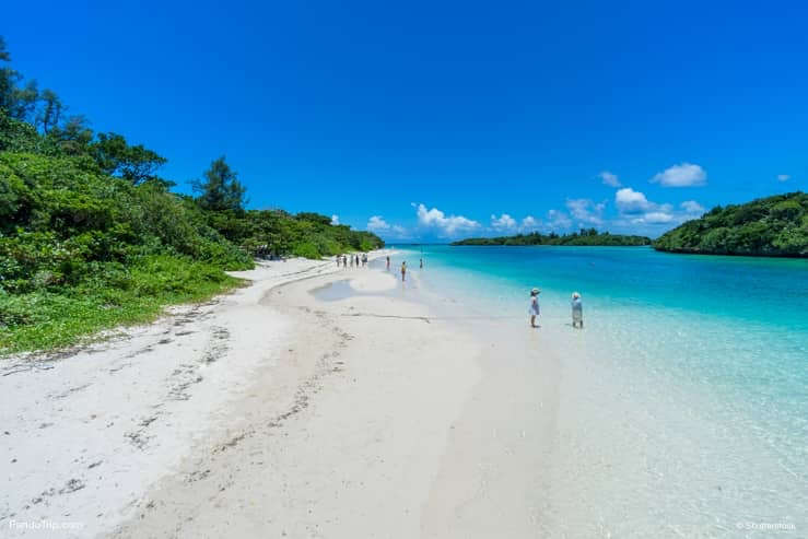 Tropical Beach, Kabira Bay, Okinawa, Japan