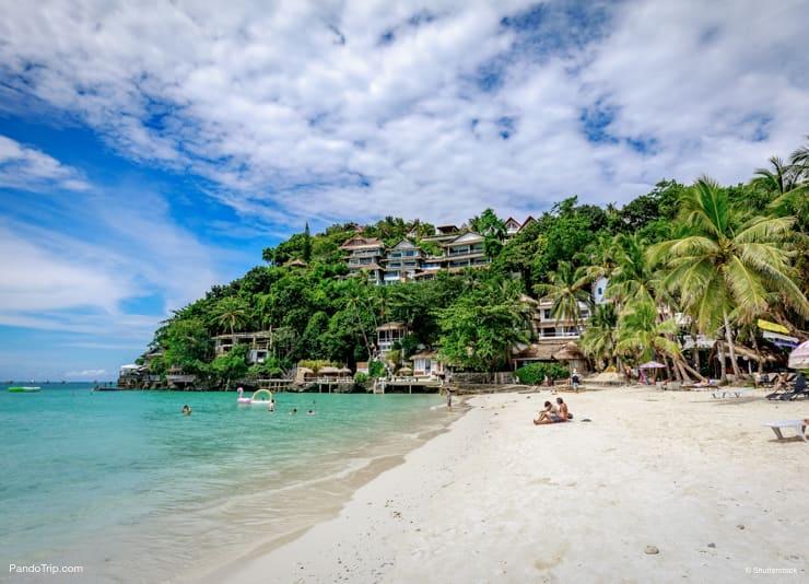 Diniwid beach, Boracay Island, Philippine
