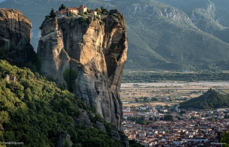 Meteora Monastery of the Holy Trinity, Thessaly, Greece