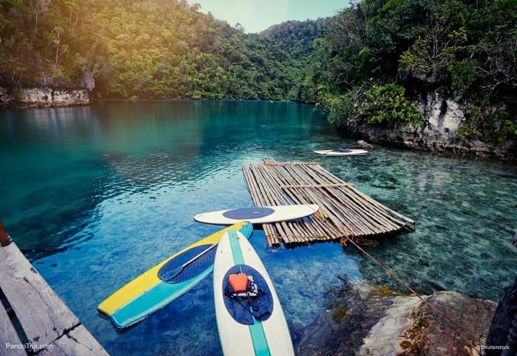 Sugba lagoon, Siargao Island, Philippines