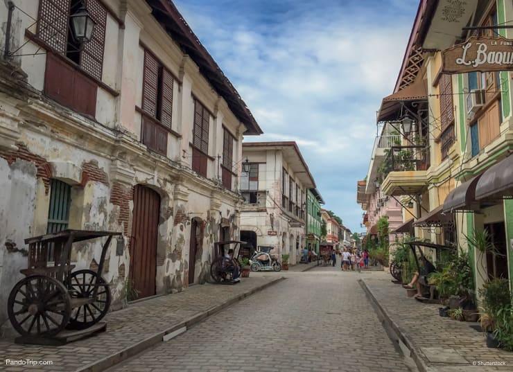 Vigan City in Philippines