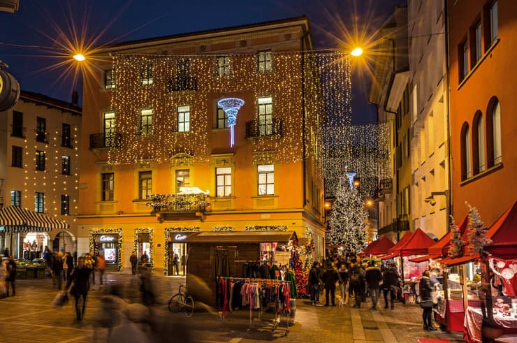 Christmas in Lugano, Switzerland
