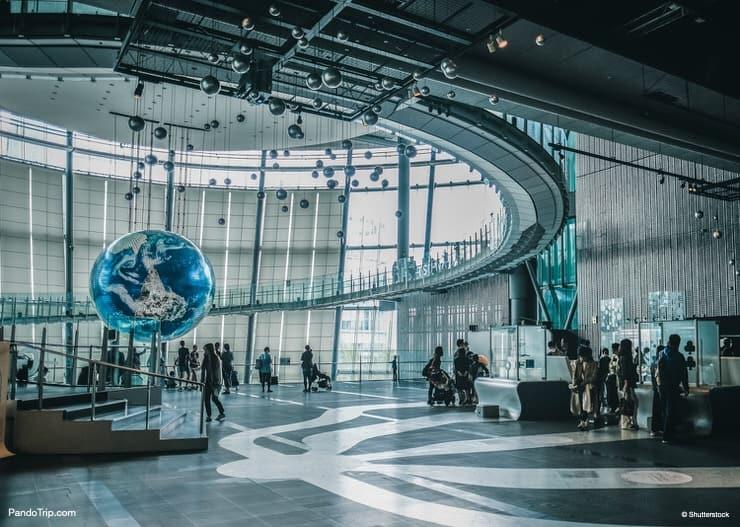 Discover your Earth Exhibition, Miraikan, Odaiba, Tokyo