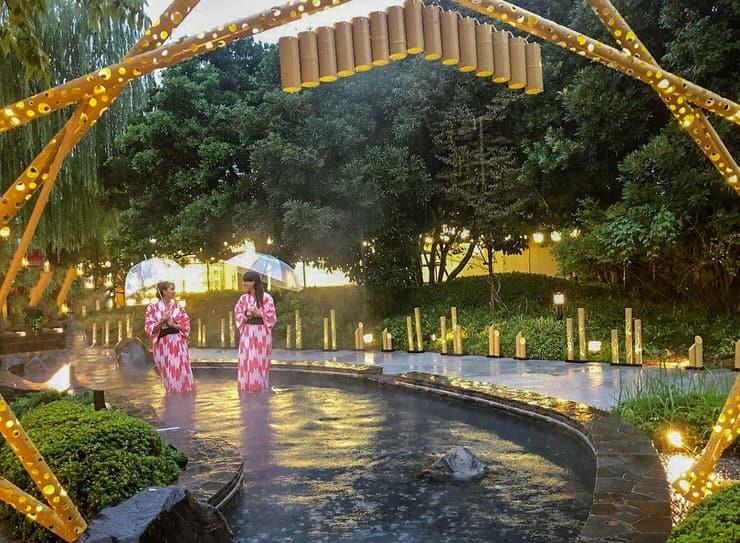 Oedo Onsen Monogatari, Odaiba, Tokyo, Japan