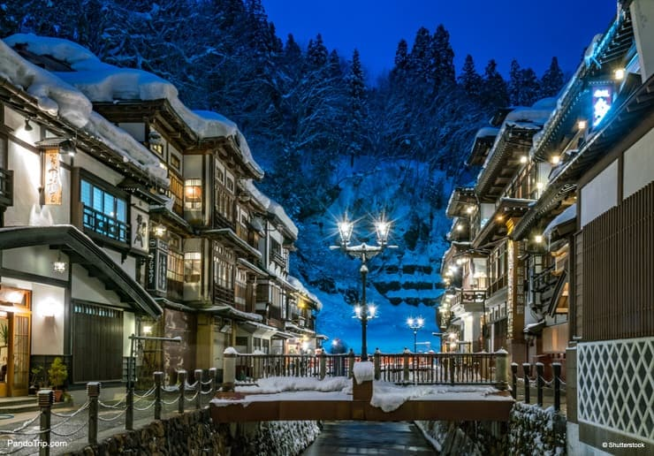 One of Japan's prettiest Onsen towns - Ginzan Onsen