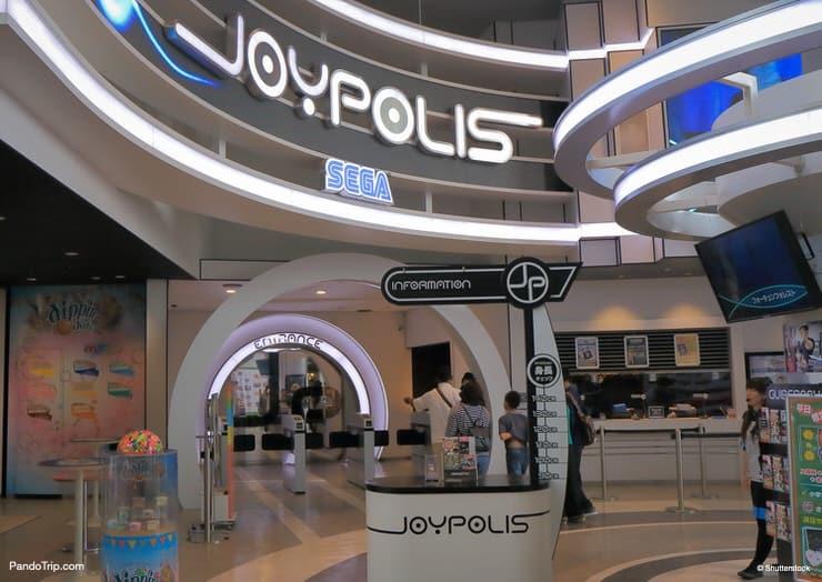 Tokyo Joypolis, Sega-orientated theme park in Odaiba, Tokyo, Japan