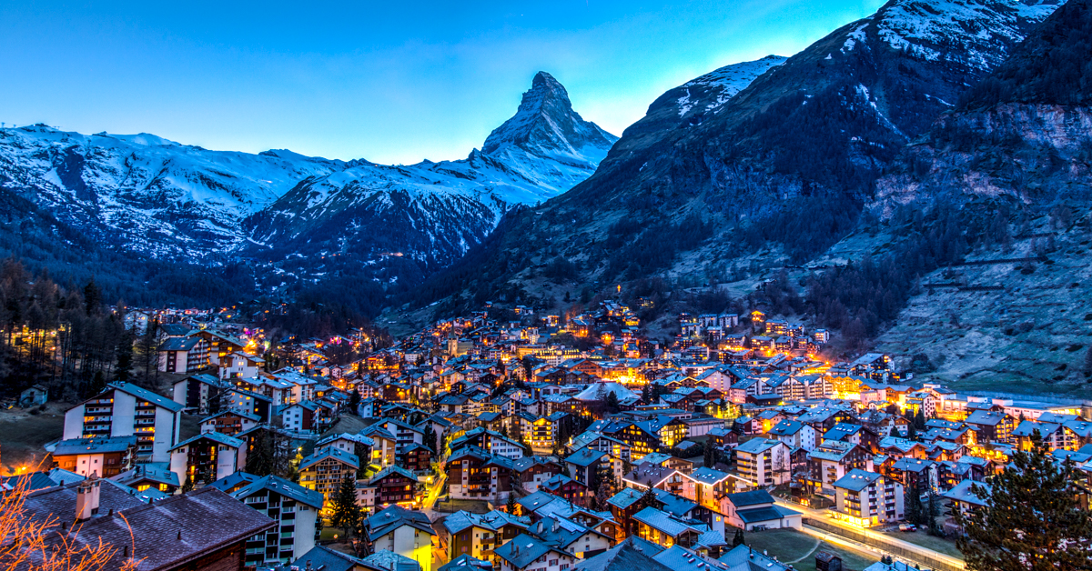Christmas In Switzerland.Top 10 Christmas Towns And Villages In Switzerland