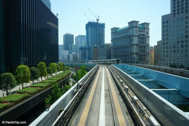 Yurikamome Train, Odaiba, Tokyo, Japan