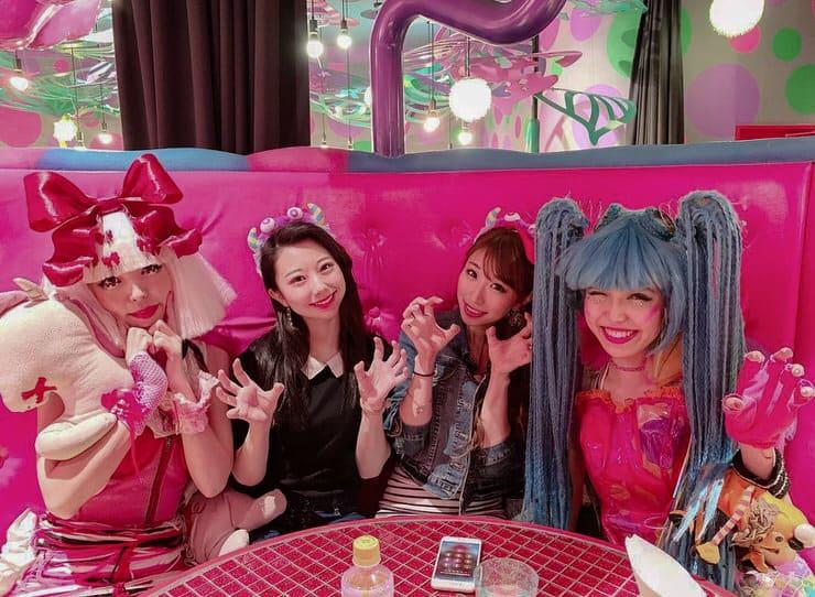 Kawaii Monster Cafe in Tokyo, Japan