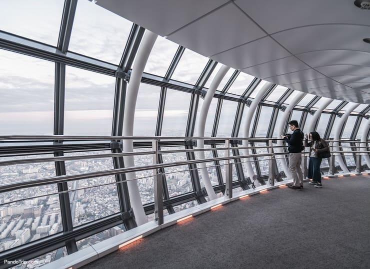 Star Wars Tokyo Sky Walk at Tokyo Skytree